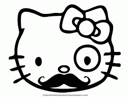 hello kitty coloring pages pdf coloring home