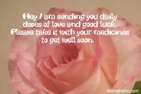 hey i am sending you daily get well message