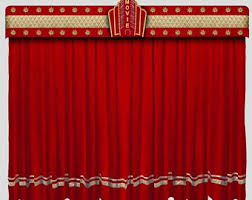 theater curtains etsy