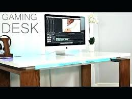 l shaped gaming computer desk diy gaming computer desk guideable co