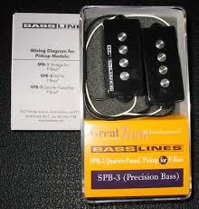 basslines spb 3 quarter pound p bass pickup 40 shipped talkbass com