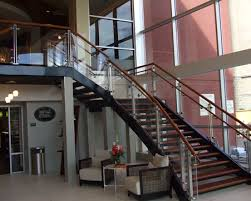 Stainless Steel Handrails For Stairs Crl Arch Stainless Steel Post Railing Glass Balustrades And