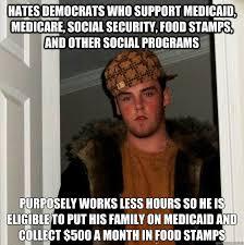 Funny Democrat Memes - hates democrats who support medicaid medicare az meme funny