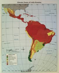 Latin America Physical Features Map Maps Wsns Social Studies