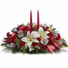 christmas flower arrangements for table christmas flower table