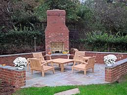 download brick outdoor fireplace garden design