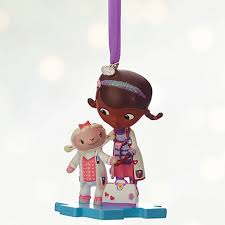 doc mcstuffins and lambie ornament