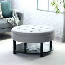 fancy white ottoman with storage design medium size of tufted