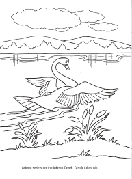 image swan princess official coloring page 33 png the swan