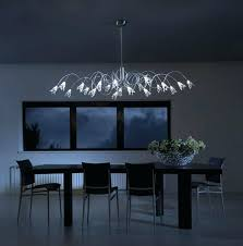 brushed nickel dining table black rectangle chandelier astechnologies info