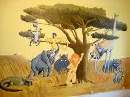 peinture murale pour chambre une chambre d enfants originale peinture murale
