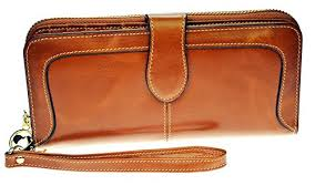Cowhide Leather Purses Pulabo Cowhide Leather Long Wallet Clutch Purse Card Holder Coin