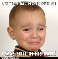 Father And Son Meme - parenting that s his favorite father son bonding memory too rub