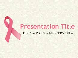 breast cancer powerpoint template free download reboc info