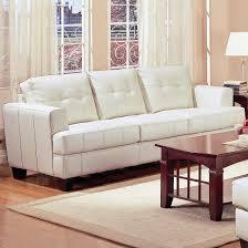 furniture elegant white tufted sofa by ashley furniture austin