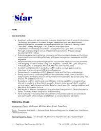 sample resume for senior business analyst business yst summary marketing plan example blog hootsuite com