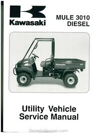 2003 2007 kawasaki kaf950 mule 3010 diesel side by side service manual