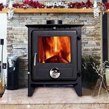 lincsfire reepham multifuel fireplace stove 8kw high efficiency
