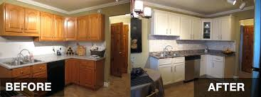 reface kitchen cabinet doors cost resurfaced kitchen cabinets before and after amazing resurfaced
