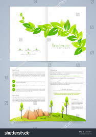 Conceptualize Creative Nature Conceptualize Professional Brochure Flyer Stock