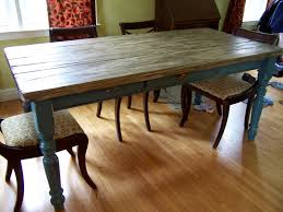 Wooden Dining Room Sets by Fine Rustic Farmhouse Dining Room Tables For Vintage Furniture