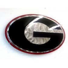 georgia bulldogs metal art