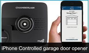 android garage door opener best iphone controlled garage door openers 2018 open car parking