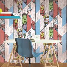 marvel wood panel wallpaper graham brown uk