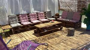 Deck Coffee Table - wooden deck with pallet sofa and coffee table 101 pallet ideas