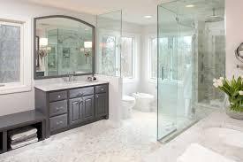 master bathroom modern designs walnut finish vanity cabinet in