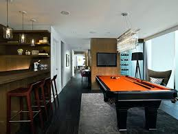 small pool table room ideas billiard room ideas small pool table basement home decorating