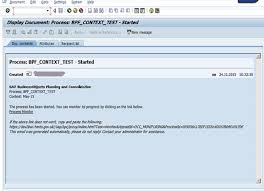 Sap Bpc Resume Samples by Setting Up Bpf E Mail Notifications In Bpc Ver 10 0 For Nw
