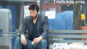 Keanu Reeves Meme Picture - sad keanu meme inspires reeves to write a book