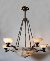 Antique Alabaster Chandelier Antique Art Deco Chandelier Art Deco Chandelier Look Elegant