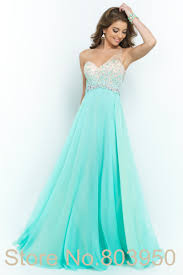 aliexpress com buy stunning one shoulder prom dress ombre beads