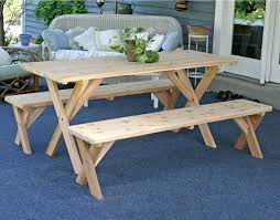 classic picnic table bench cover the picnic table benches ideas