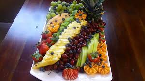 thanksgiving fruit platter i made hd