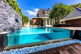 furniture charming pond waterfall design simple backyard pool