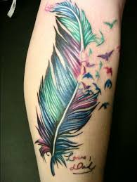 awesome feather tattoo design styles time