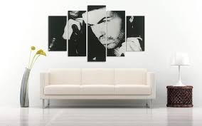 50 off george michael b 5 panel hd wall art canvas home