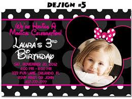 birthday invites best 10 minnie mouse birthday party invitations
