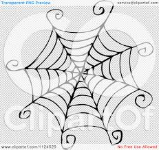 halloween spider web background clipart of a sketched black and white spider web royalty free