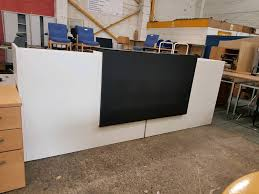 Gumtree Reception Desk Large White Hotel Reception Desk With Led Lights In Newcastle