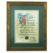 catholic wedding blessing priestly blessing framed print the catholic company
