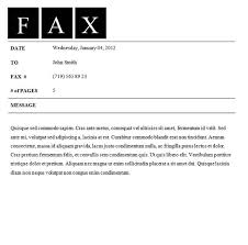 Fax Sheet Templates Blank Fax Cover Sheets Word Offers Many Cover Sheet Templates