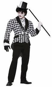 Halloween Jester Costume Men U0027s Harlequin Tailcoat Costume Candy Apple Costumes Pop Culture
