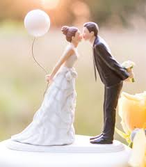 photo cake topper 20 creative wedding cake toppers for your inspiration hongkiat
