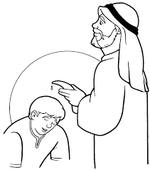 Samuel Anoints David Coloring Page Samuel Coloring Pages