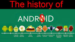 os android a brief history of android os