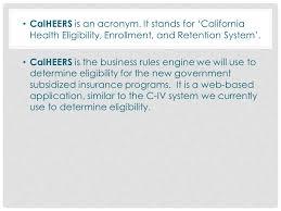 calheers overview what is calheers ppt video online download